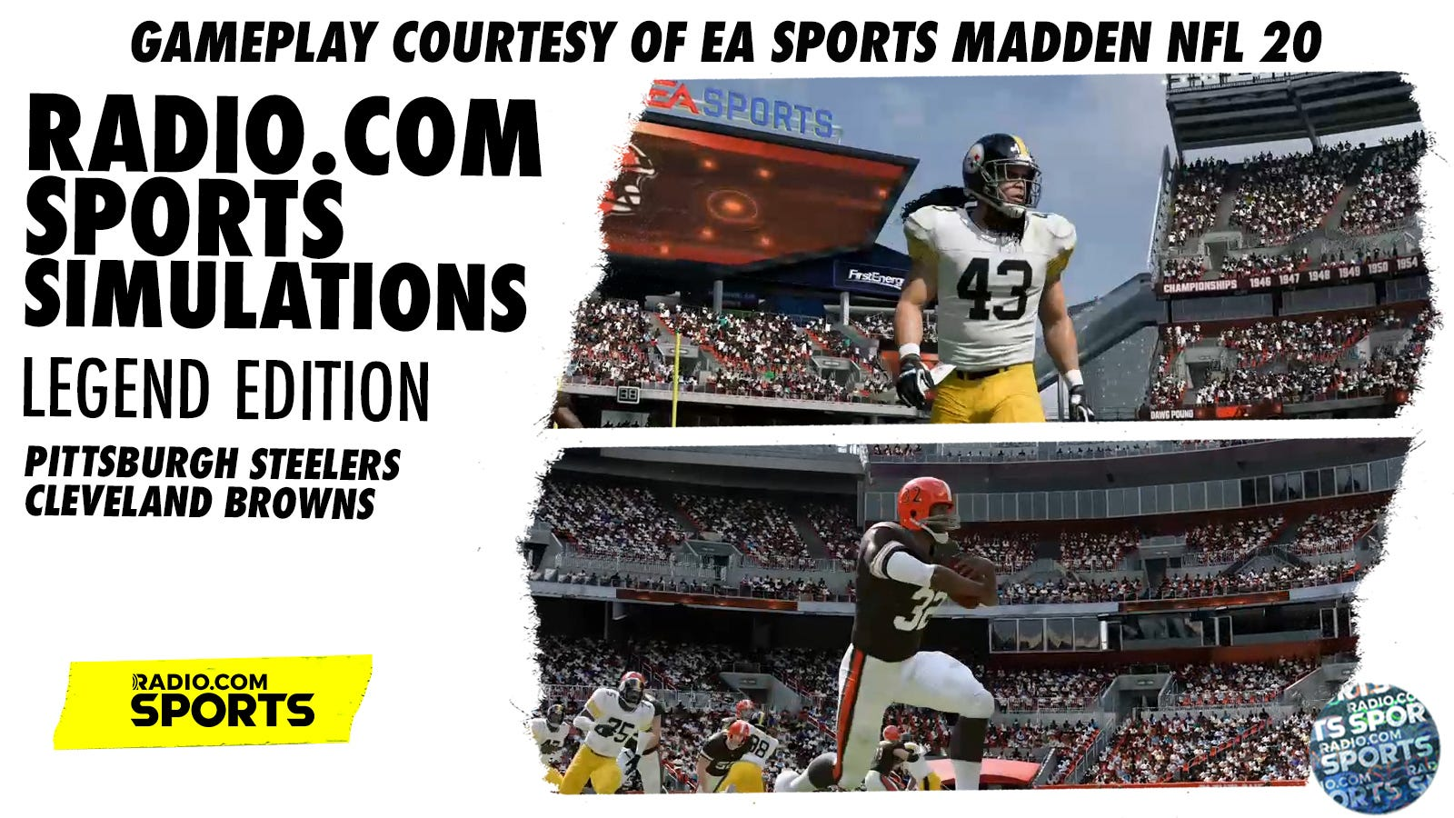 Madden 20 Sim Otto Graham Leads Browns Over Steelers Greats As the georgia runoffs arrive, a new book says the senate is broken. madden 20 sim otto graham leads browns