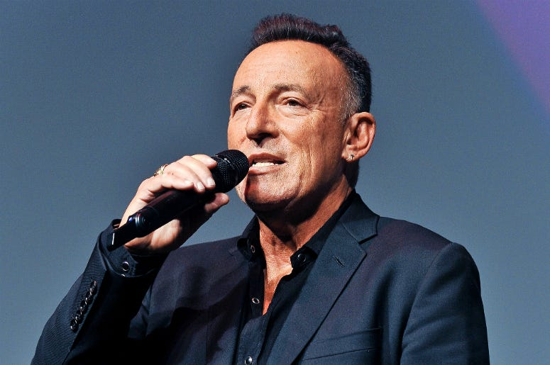 "Bruce Springsteen. 2019 Toronto International Film Festival - ""Western Stars"" Premiere"