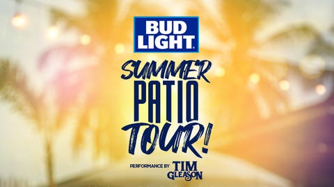 Bud Light Summer Patio Tour @ The Town Bar & Grill