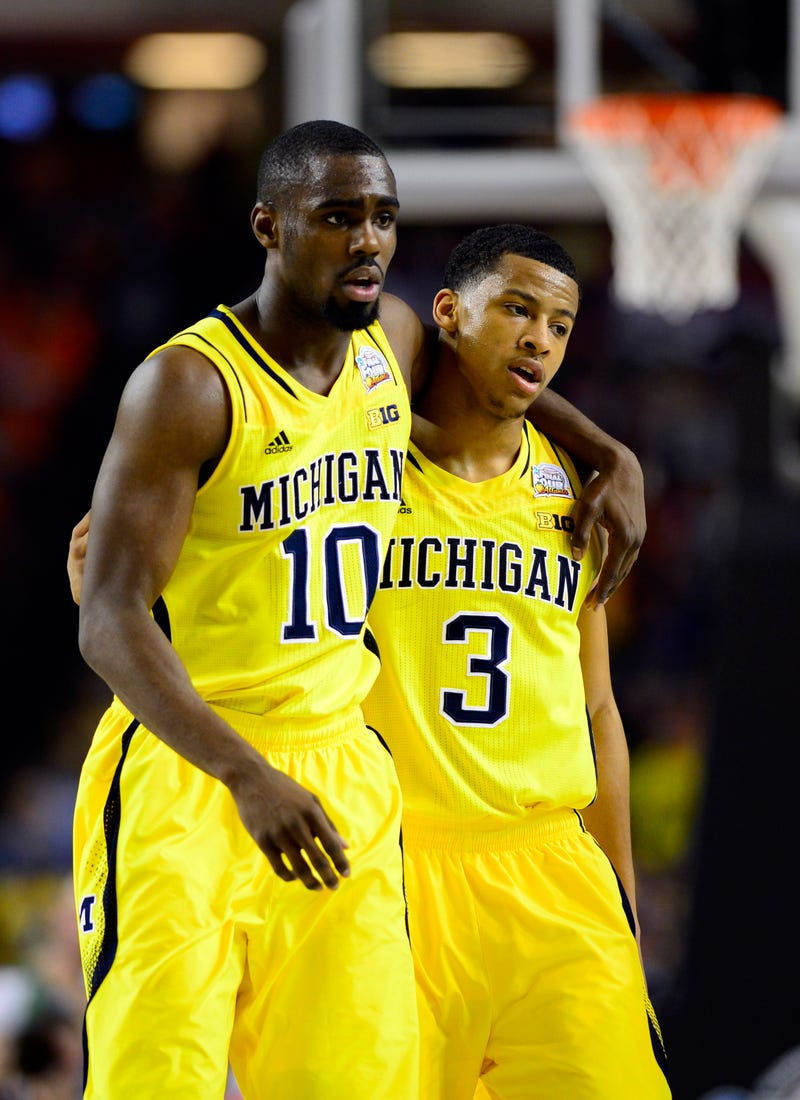 Glenn Robinson III and Trey Burke