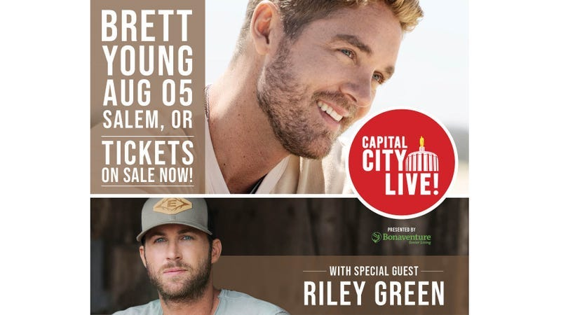 Win Tickets to Capital City Live! w/ Brett Young and Riley Green