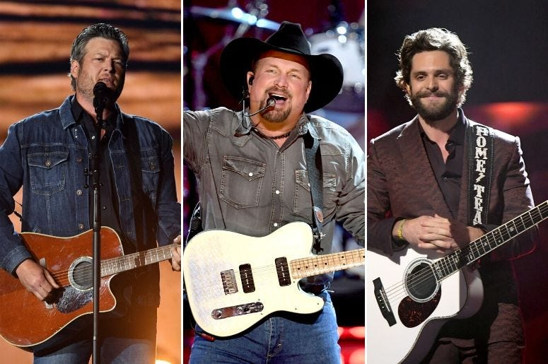 Blake Shelton, Garth Brooks, and Thomas Rhett are set to perform at the 2019 CMA Awards