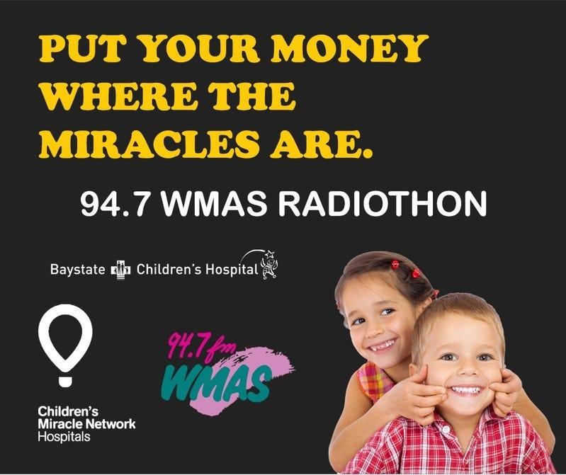 94.7 WMAS Radiothon
