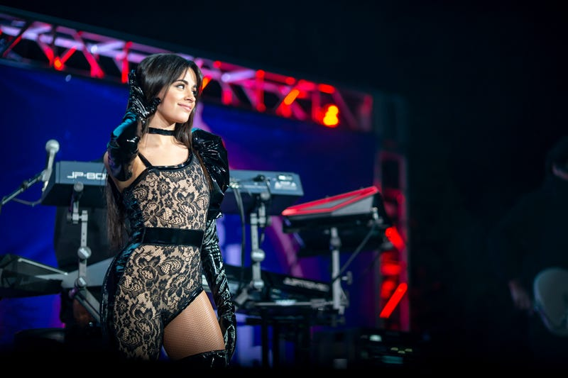 Camila Cabello performs at B96 Jingle Bash in Rosemont, Illinois on December 7, 2019.