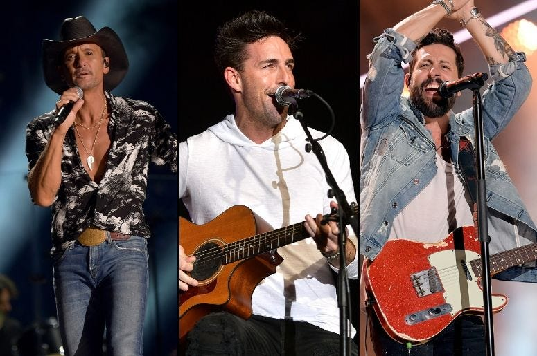 Tim McGraw x Jake Owen x Old Dominion