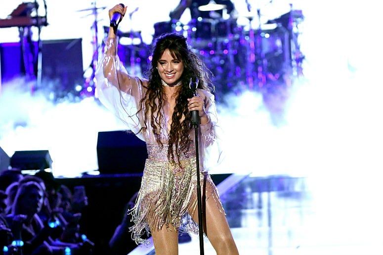 Camila Cabello performs onstage