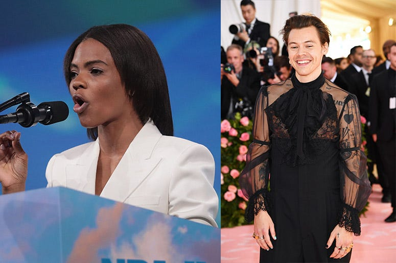 Candace Owens and Harry Styles