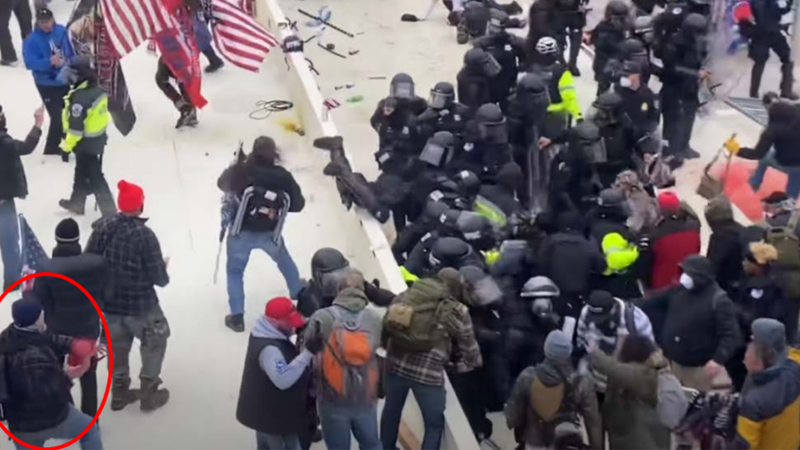 Retired Chicago firefighter falsely identified as Capitol Hill rioter attacking police