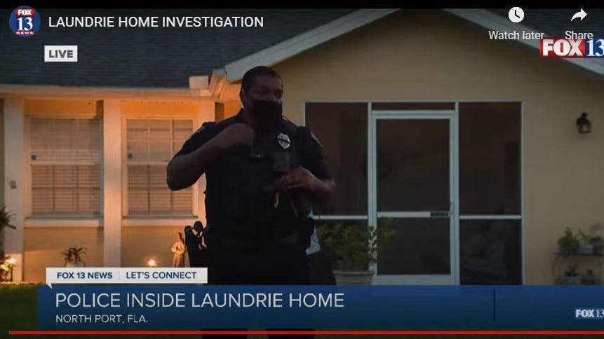 WATCH LIVE: Cops enter FL home of Gabby Petito's fiance as search intensifies