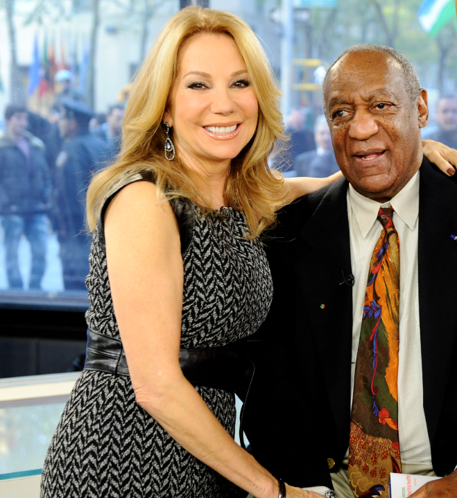 """Kathie Lee Gifford and Bill Cosby on the """"Today"""" show"""