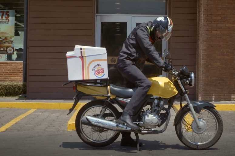 Burger King may launch delivery for motorists stuck in L A