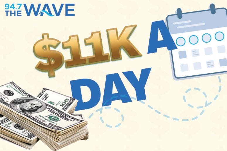 $11K A Day on The Wave