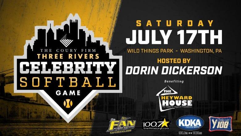 Three Rivers Celebrity Softball Game