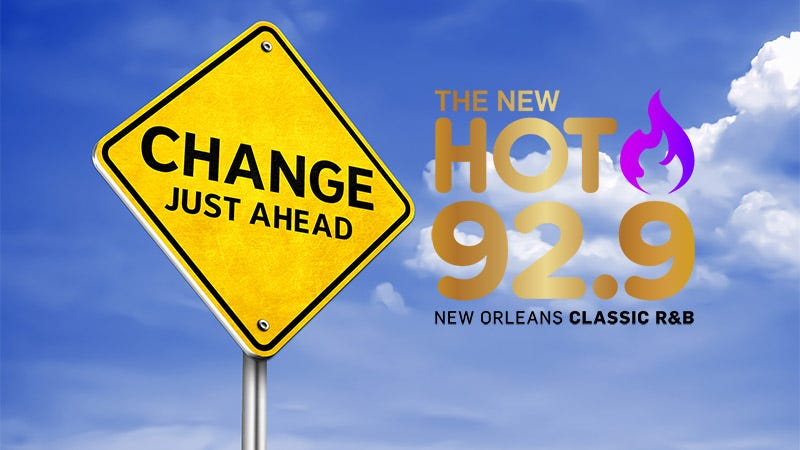 change ahead for Hot 92.9