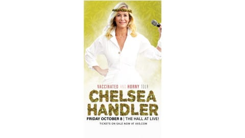 Chelsea Handler at The Hall at LIVE!