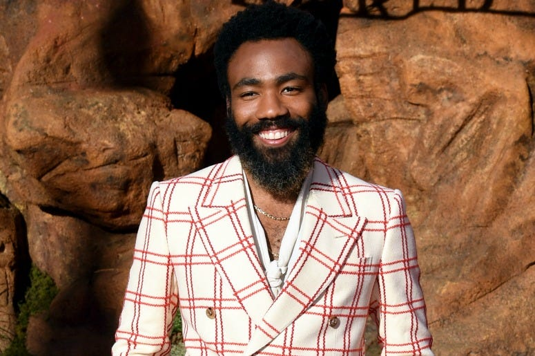 "Donald Glover attends the premiere of Disney's ""The Lion King"""