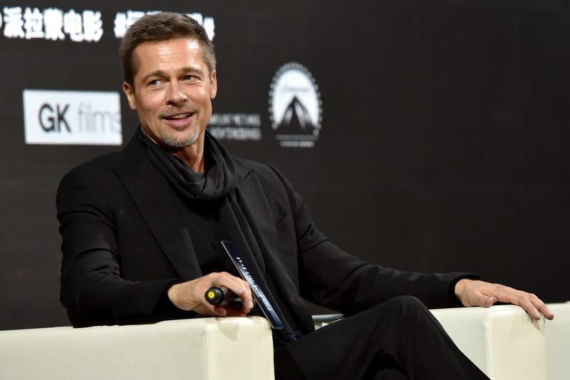 Brad Pitt on a press tour in China