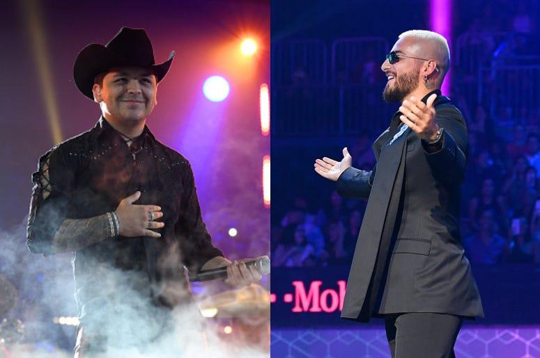 Christian Nodal y Maluma