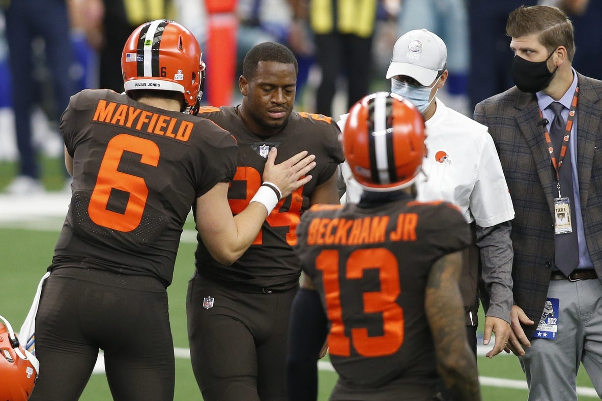 Jake Burns: Kareem Hunt doing well for Browns, but they need Nick Chubb back