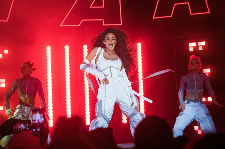 Ciara performs onstage at The Wiltern on September 17, 2019 in Los Angeles