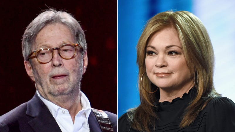 Eric Clapton and Valerie Bertinelli