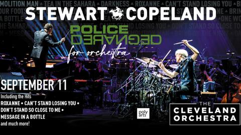 Stewart Copeland's Police Deranged for Orchestra