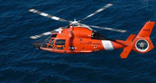 Coast Guard suspends search for person