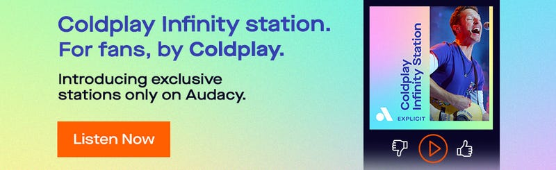 Coldplay Infinity Station