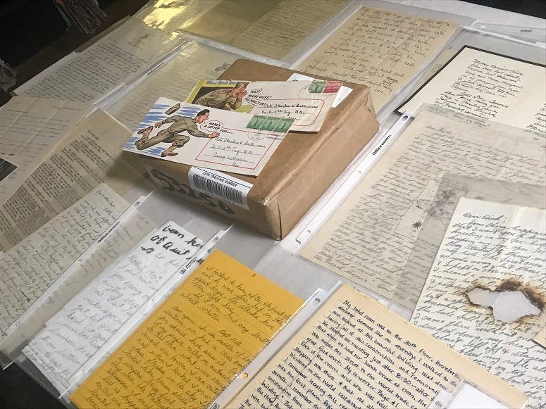 War Letters from the American Revolution to today are all preserved at The Center for American War Letters.