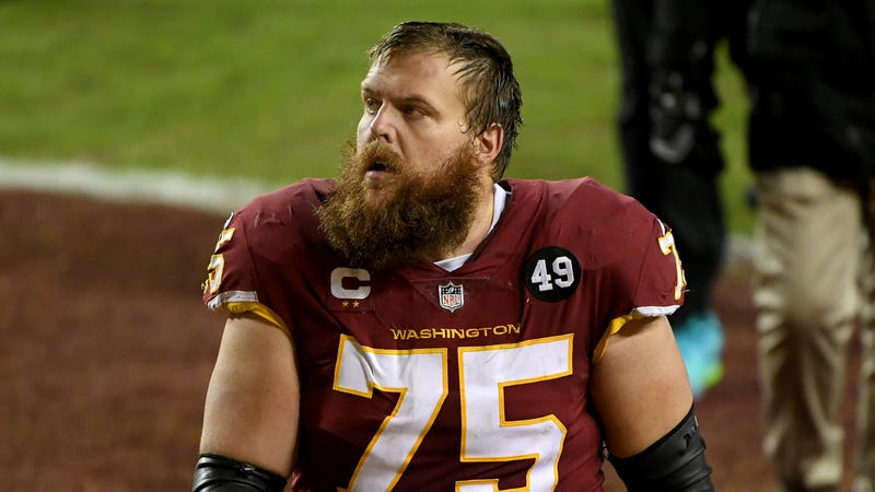 Complete List of Washington Football Team 2021 Free Agents: Scherff, Darby, Hopkins, Pierre-Louis