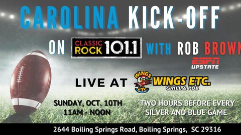 Carolina Kick-Off with Rob Brown