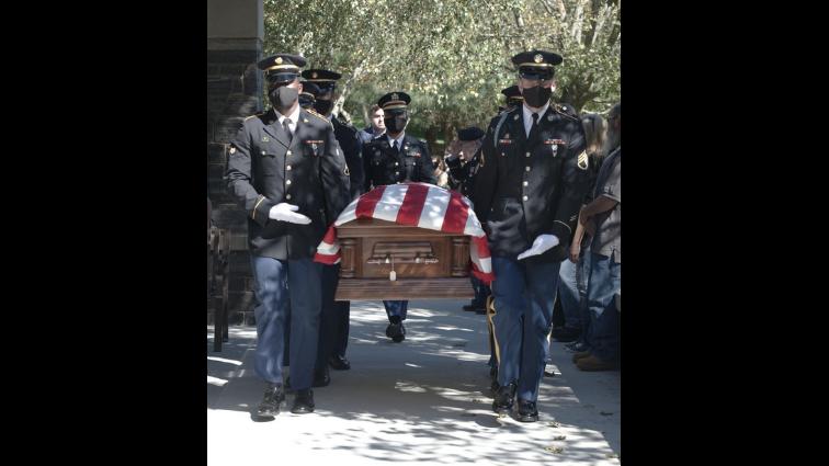 New York National Guard funeral honors Korean War MIA