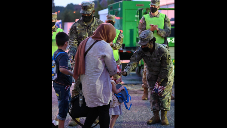 Fort Lee plays a central role in Operation Allies Welcome