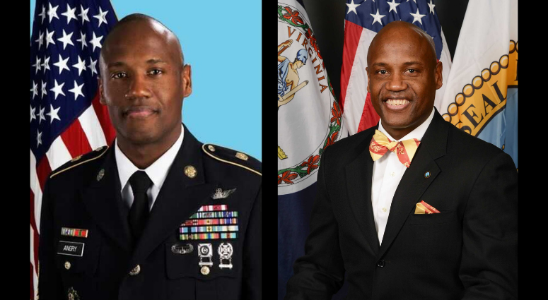 Victor Angry served in the Army, Army National Guard and now serves on the Prince William County's Board of Supervisors