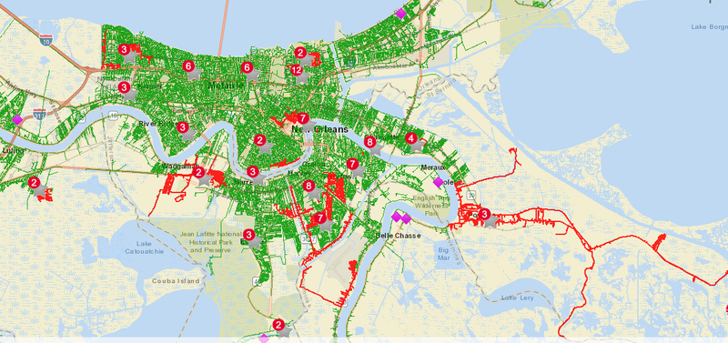Outages hit various areas and parishes