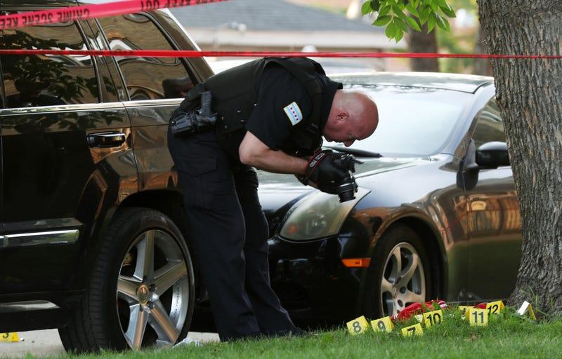 Chicago Crime Scene Photo by John J. KimChicago TribuneTNSSipa USA