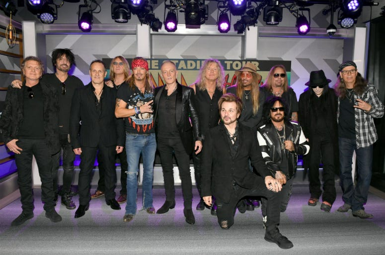 Mötley Crüe, Def Leppard, and Poison announcing 2020 Stadium Tour