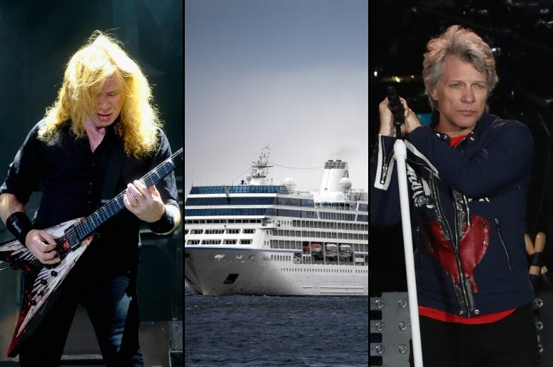 From Megadeth to Bon Jovi, Which of These Rock Music Cruises Is Best for You?