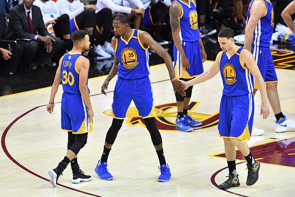 40319f4e95598 What's Next for Golden State Warriors Stars Kevin Durant, Klay ...