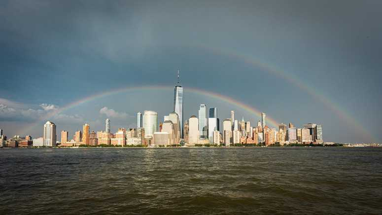 NYC Pride Rainbow