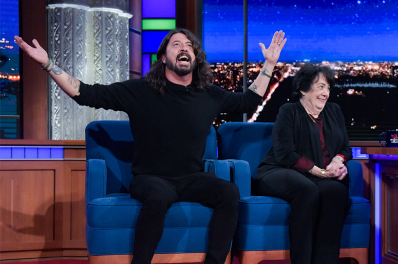 Dave & Virginia Grohl