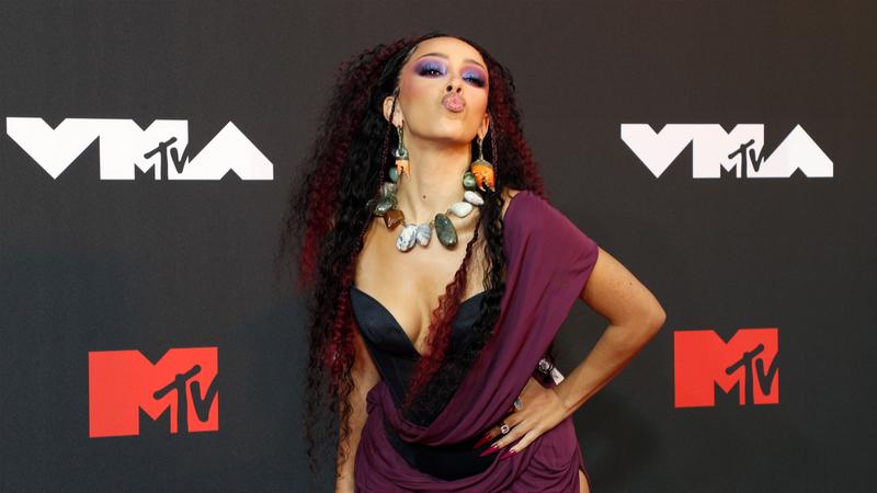 Doja Cat at 2021 MTV VMAs