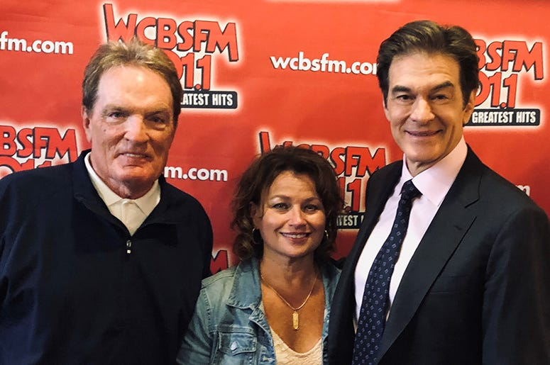 Dr. Oz with Scott Shannon and Patty Steele