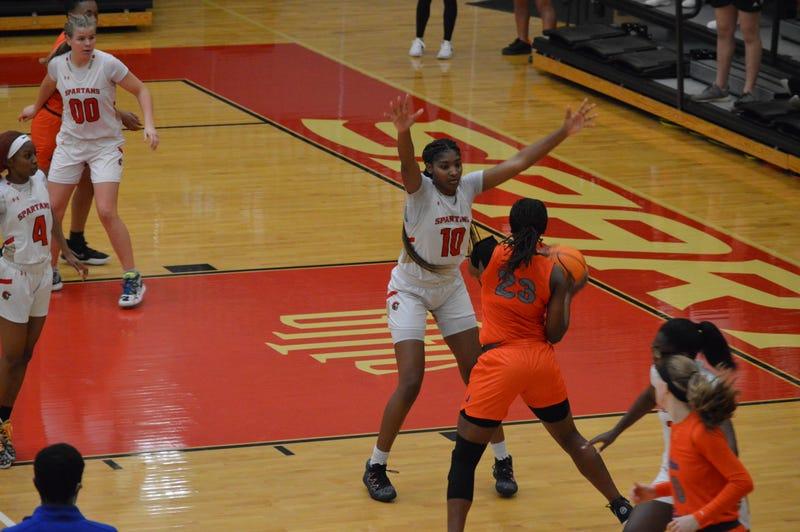 GAC Spartans defense lead to 53-43 win over Johnson