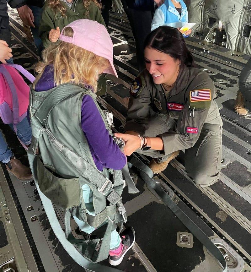 All female C130 crew