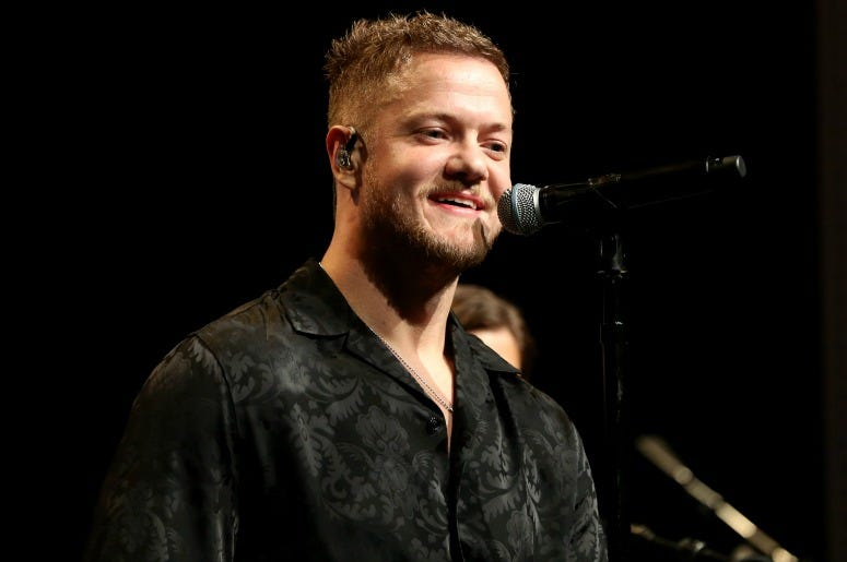 Frontman Dan Reynolds of Imagine Dragons performs during the sixth annual Tyler Robinson Foundation Rise Up Gala benefiting families affected by pediatric cancer at Wynn Las Vegas on September 06, 2019