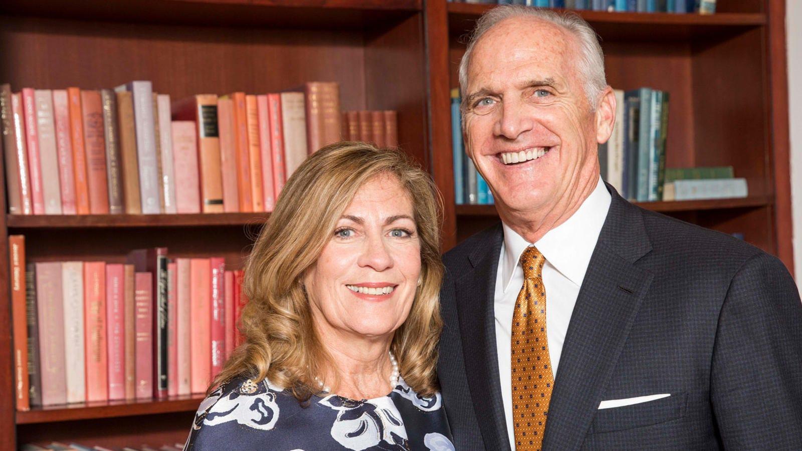 Saint Joe's alum, a former health care CEO, gives back