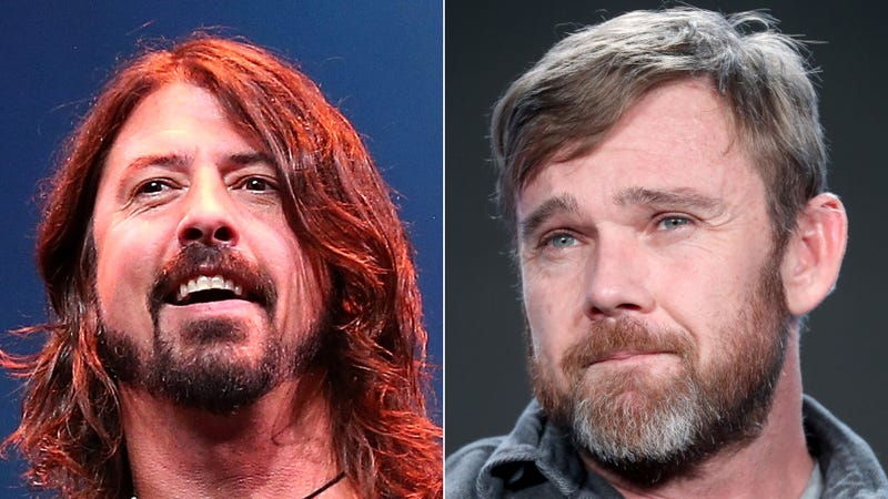 Foo Fighters and Ricky Schroeder