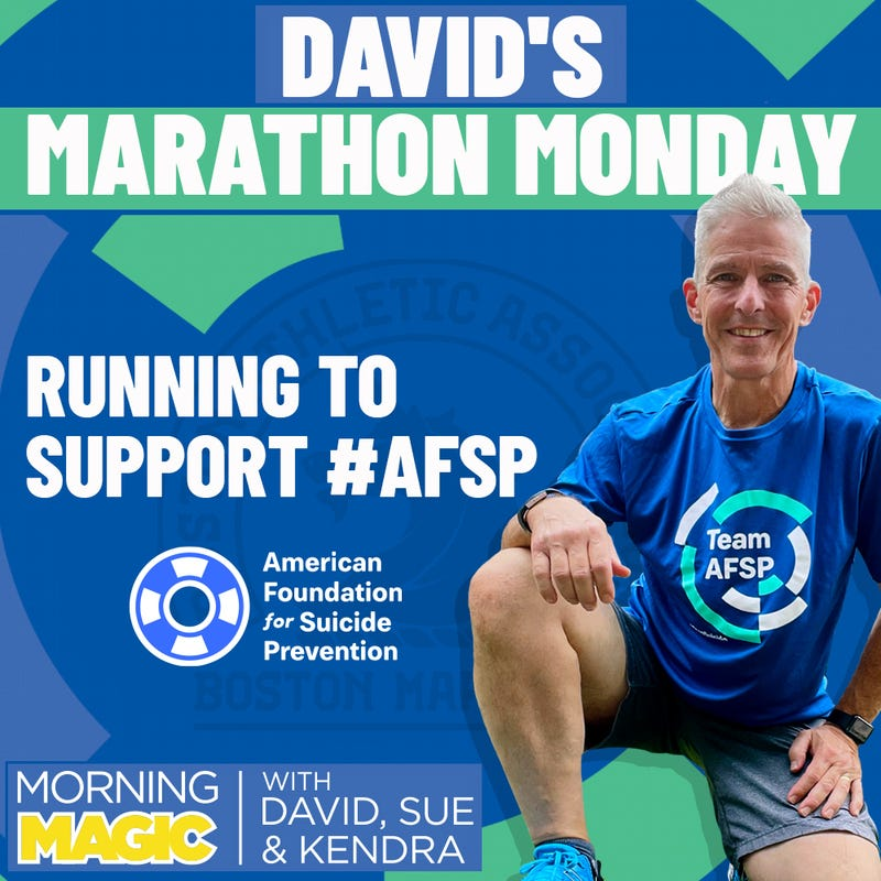 David Running The Boston Marathon