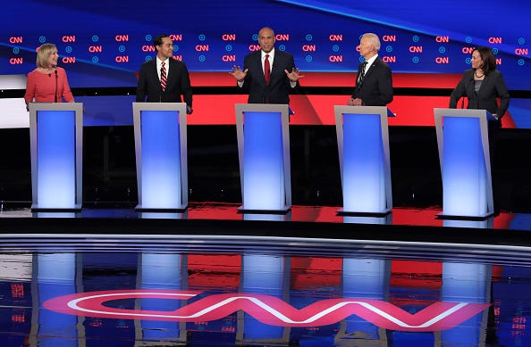 Night 2 of the CNN Democratic debate